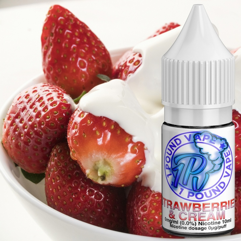 Strawberries & Cream - 10ml