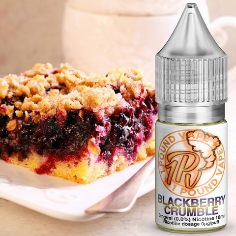 Blackberry Crumble - 10ml